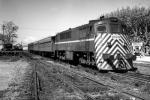 Tren en Estación Peñarol. Sin datos. (Foto 13041 FMH.CMDF.IMM.UY)