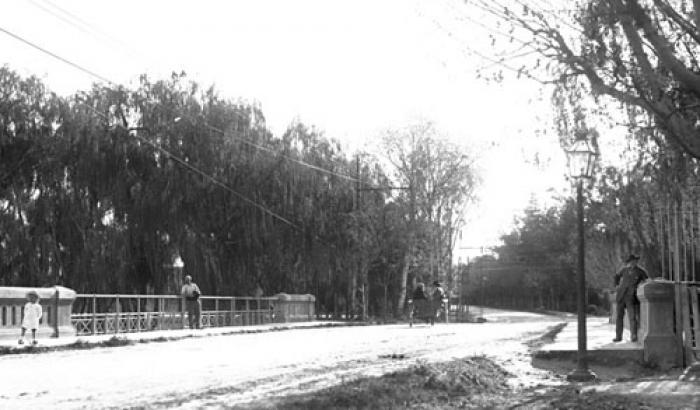 Avenida Lezica. Año 1917. (Foto 1683 FMH.CMDF.IMM.UY)