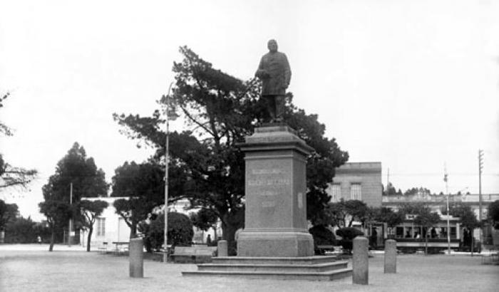 Plaza Vidiella. Año 1922. (Foto 3265 FMH.CMDF.IMM.UY)